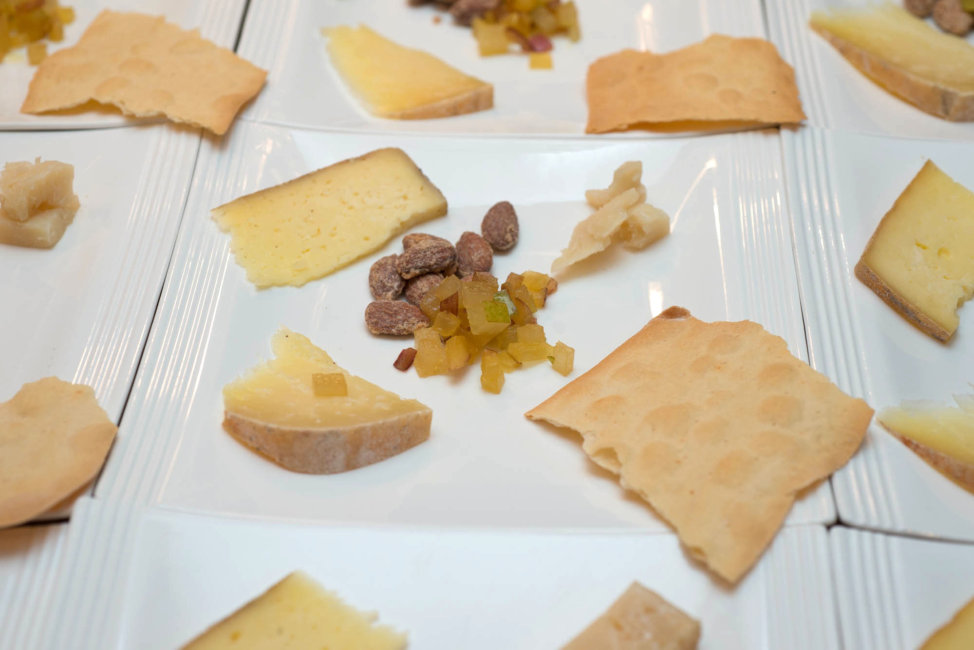 California Sheep, Goat, and Cow's Milk Cheeses with Accompaniments