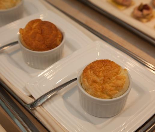 Miniature Cheese Soufflés