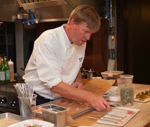 Spike Gjerde at the James Beard House