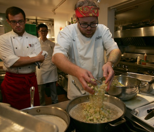 Jeremy Nolen at the James Beard House