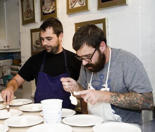 Jon Shook and Vinny Dotolo at the James Beard House
