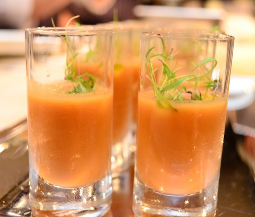 Chilled Tomato Soup with Maryland Lump Crab