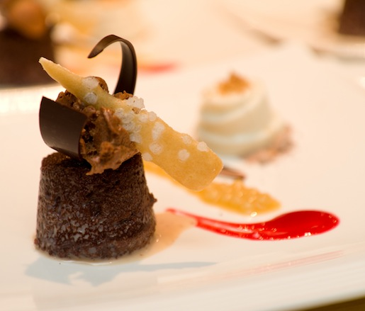 Chocolate Tres Leches and Coconut Panna Cotta