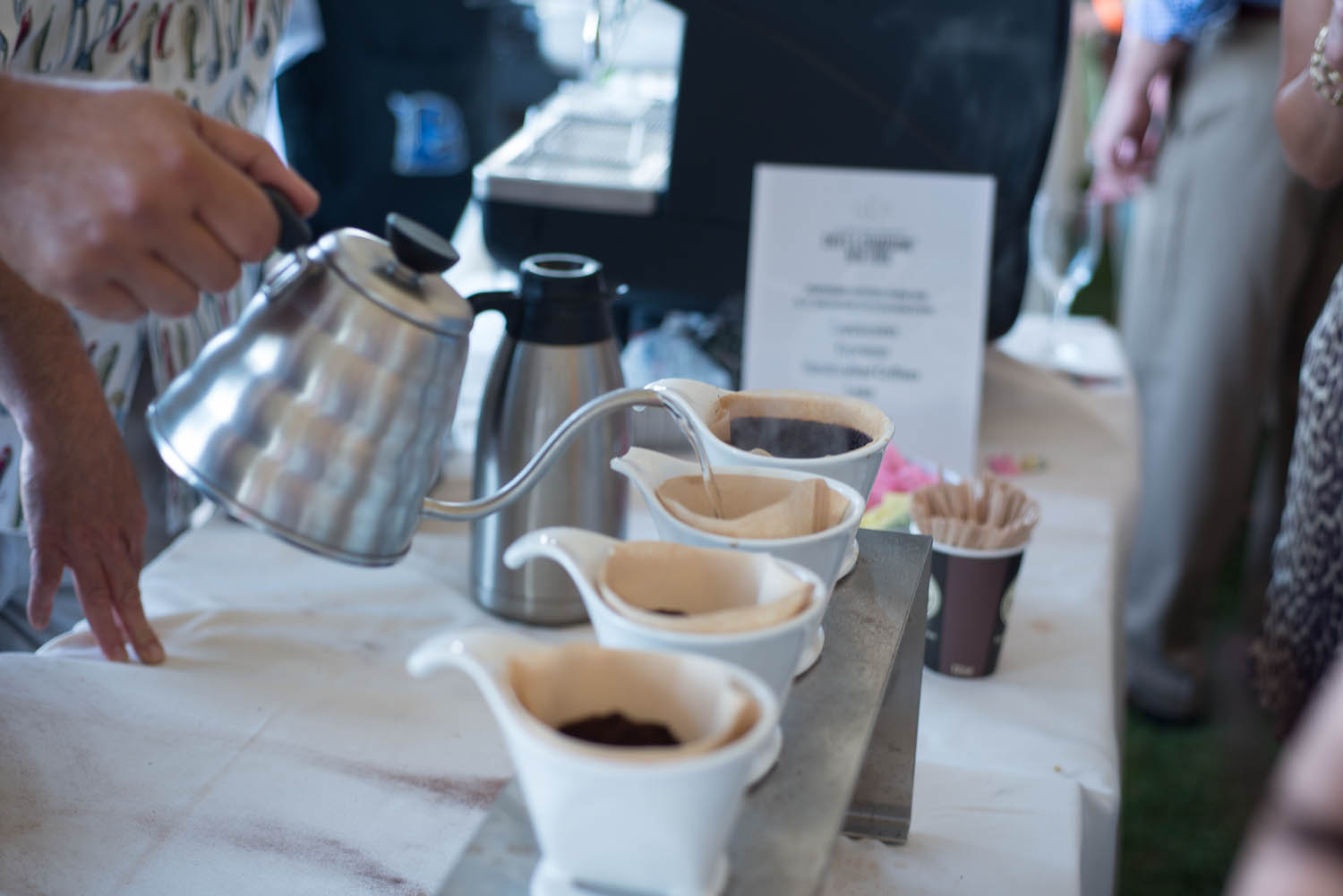 Handcrafted coffees from Royal Cup Coffee