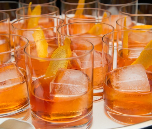 Crave Negroni > Aged Rum with Aperol and Amontillado Sherry