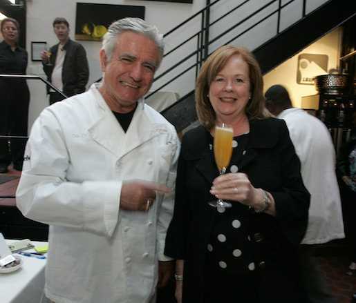 Dale DeGroff and Susan Ungaro at the Beard House