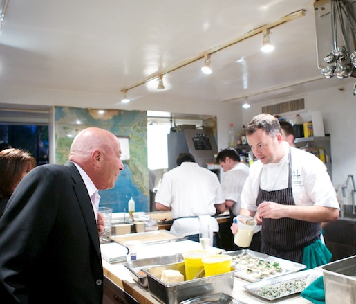David Hawksworth at the James Beard House