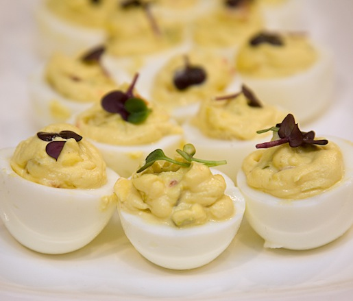 Chowchow-Deviled Eggs