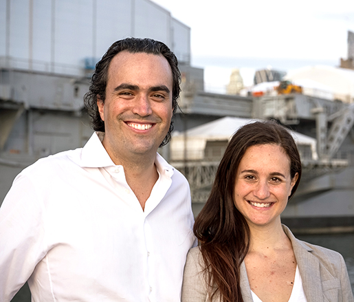 Felipe Donnelly and Tamy Rofe (photo by Luciana Golcman)