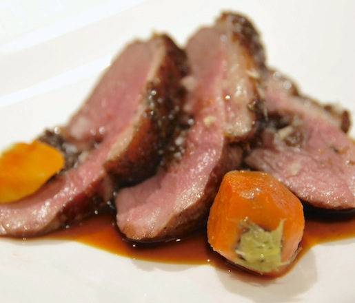 Reinterpreted Classic Flavor > Roasted Duck and Prunes