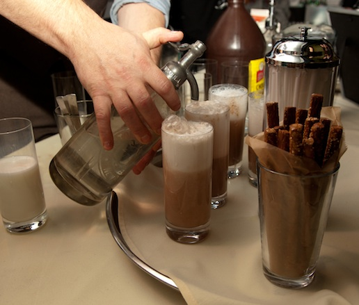 Brooklyn Farmacy & Soda Fountain Chocolate Egg Creams