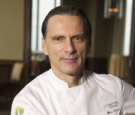 Vice President Culinary of Hilton Worldwide Americas Marc Ehrler MCF-ACF
