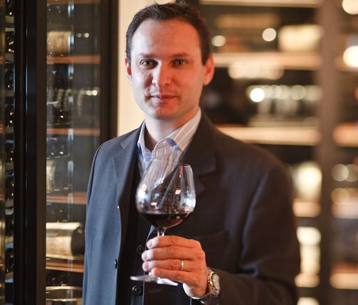 Wine Director Olivier Flosse