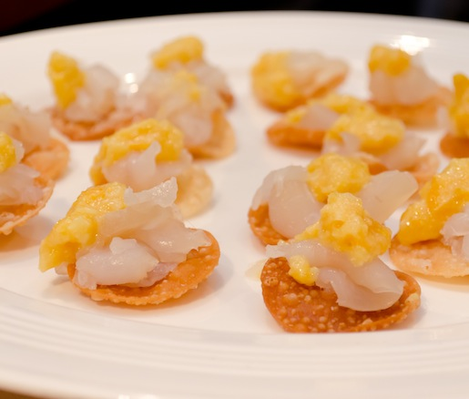 Marinated Fluke Crudo