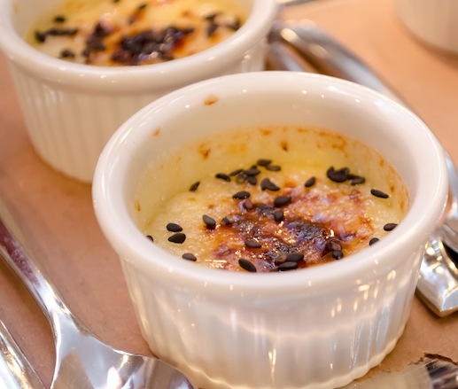 Foie Gras Brûlée with Figs