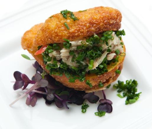 Amuse Bouche > Miniature Albacore Tuna Fricassee