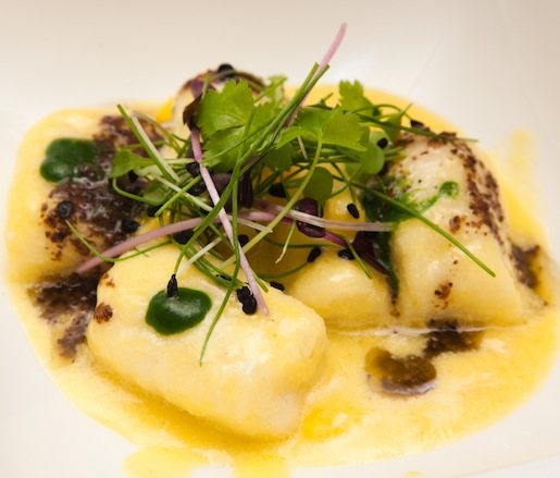 Sheep's Milk Ricotta Gnocchi with Valley View Farms Corn and Tarragon