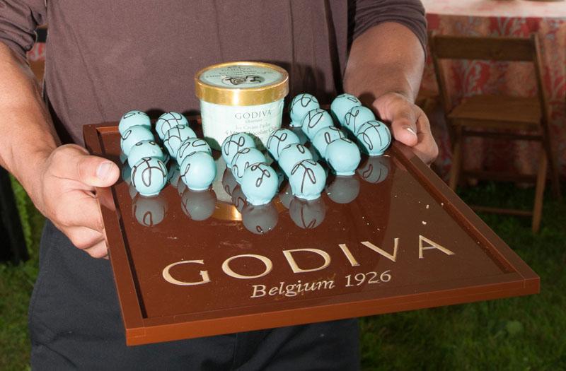 GODIVA ice cream parlor truffles