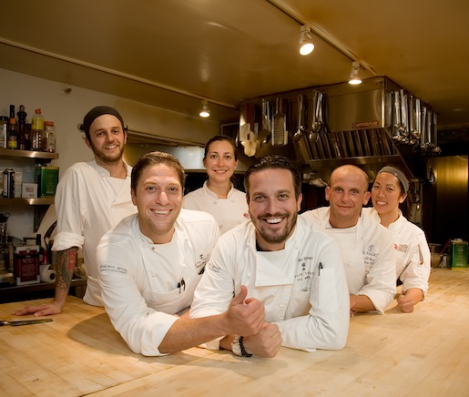 Fabio Vivani, David Blonsky, and their team at the James Beard House