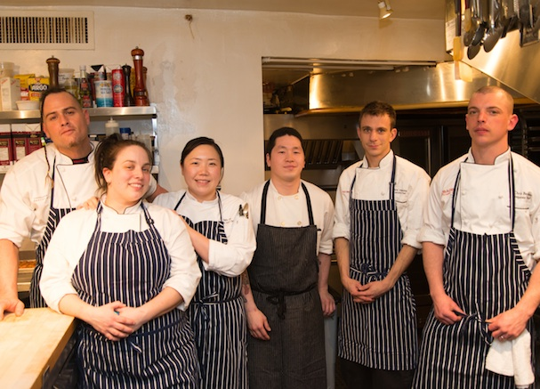 Participating chefs in the James Beard House Kitchen