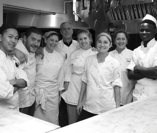 Jimmy Bradley, Ari Bokovza, Colleen Grapes, and their team at the James Beard House