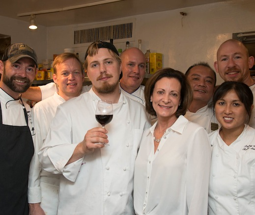 Dean Corbett, Geoffrey Heyde, Peng Looi, Dallas McGarity, Daniel Stage, Shawn Ward, and their team at the James Beard House
