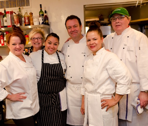 Abraham Salum, Anastacia Quiñones, and their team at the James Beard House