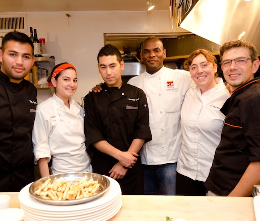 Mario Cassineri, Francesca Penoncelli, and their team at the James Beard House