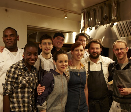 Nicole Krasinski, Stuart Brioza, and their team at the James Beard House