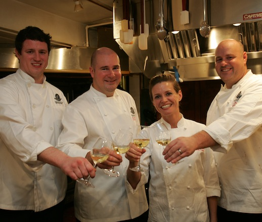 Timothy Toohey, Keli Fayard, and their team at the James Beard House