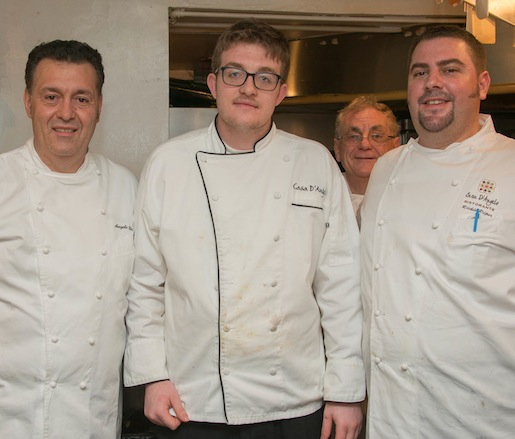 Rickie Piper, Angelo Elia, and their team at the James Beard House