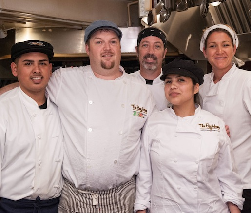 Andrew Hunter and his team at the Beard House