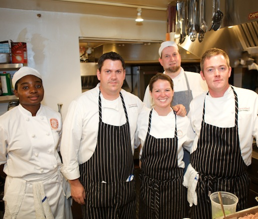 Stephen Barber and his team at the Beard House