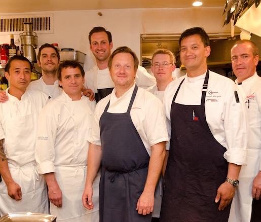 John Sundstrom and his team at the Beard House