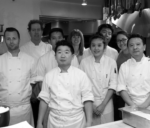 Tim Cushman, Nancy Cushman and their team at the James Beard house