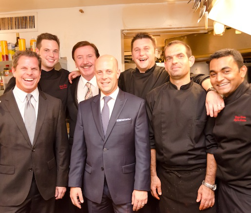 Mathias Gervais and his team at the Beard House