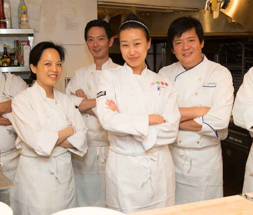 Pecko Zantilaveevan and his team at the James Beard house