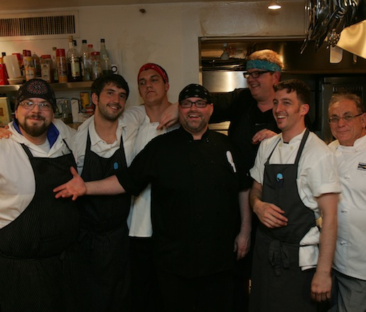 Kevin O'Donnell and his team at the Beard House