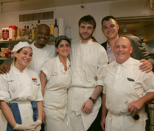 Preston Clark and his team at the James Beard house