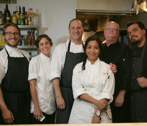 Mitch Prensky and his team at the Beard House