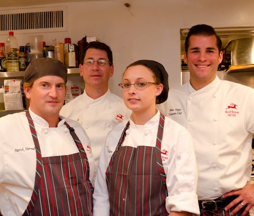 Adam Hayes and his team at the James Beard House