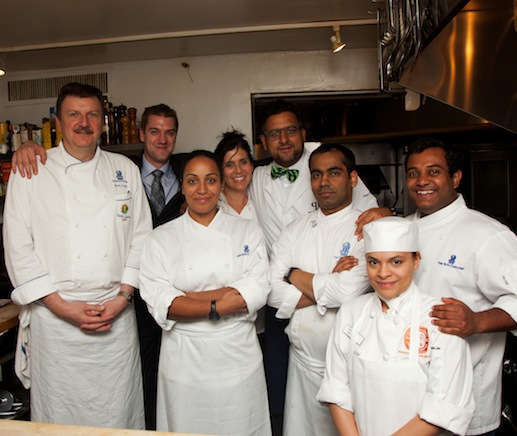 Bruno Lopez, Gihen Zitouni, and their team at the James Beard House
