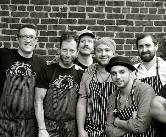 Matt Fisher, Will Horowitz, Hugh Mangum, and their team at the James Beard House