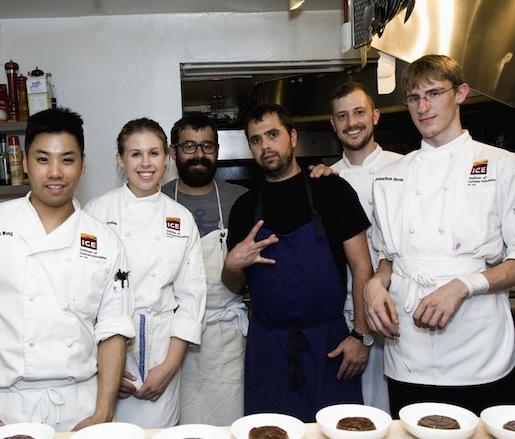 Jon Shook, Vinny Dotolo, and their team at the James Beard House