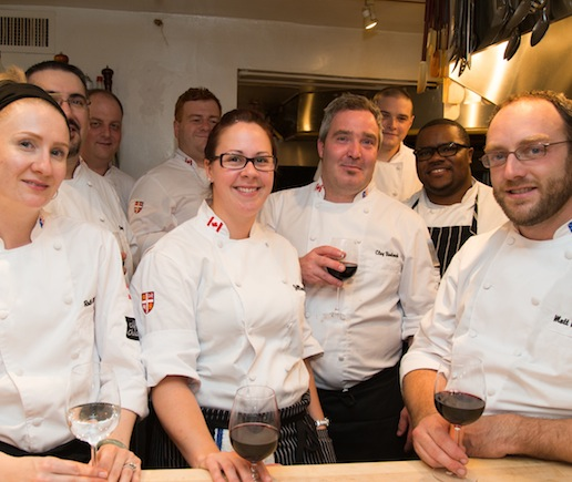 Clay Badcock, Joey Holt, Jillian Lake, Hanns Uebel, Chris Chafe, Mark McCrowe, Matt McDonald, Ruth McDonald, and their team at the James Beard House