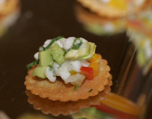 Santa Barbara Halibut Ceviche with Meyer Lemon and Ginger