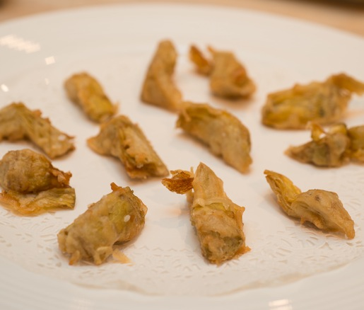 Kronenbourg 1664 Beer–Battered Artichoke Hearts