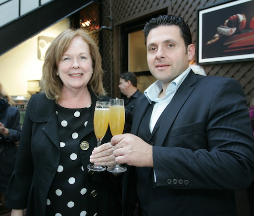 James Moreland and Susan Ungaro at the Beard House