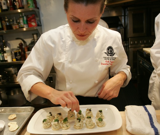 Keli Fayard at the James Beard House