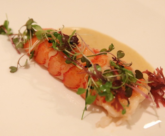 Butter-Poached Lobster with Citrus Maldon Sea Salt